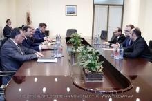 Քաղաքապետ Տարոն Մարգարյանը հանդիպել է «Երևան Ջուր» ընկերության ղեկավարության հետ