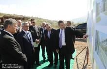 Նախագահ Սերժ Սարգսյանն աշխատանքային այցով եղել է Տավուշի և Լոռու մարզերում