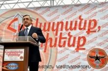 Սերժ Սարգսյանը վստահ է, որ Թուրքիան ԼՂՀ հարցում ասելիք ու անելիք չունի