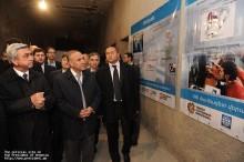 ՀՀ Նախագահն այցելեց Գյումրու տեխնոպարկ