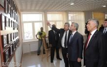 ՀՀ Նախագահը ծանթացավ Քասախի բարենորոգված մշակույթի տան հնարավորություններին