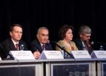 ՀՀ ԱԺ նախագահ Գալուստ Սահակյանը եւ ՌԴ ԴԺ Պետական դումայի նախագահ Սերգեյ Նարիշկինը մասնակցել են խորհրդաժողովի