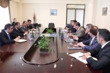 Քաղաքապետ Տարոն Մարգարյանը հանդիպել է իտալական <<Ռենկո>> և <<Գուցինի>> ընկերությունների ներկայացուցիչների հետ