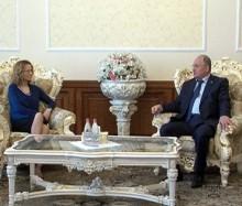 Սամվել Նիկոյանն ընդունեց ԵԱՀԿ/ԺՀՄԻԳ դիտորդական առաքելության ղեկավար Ռադմիլա Շեկերինսկային