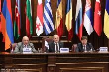 Սեւծովյան տնտեսական համագործակցության խորհրդարանական վեհաժողովի 39-րդ լիագումար նիստում
