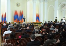 Նախագահ Սերժ Սարգսյանի ուղերձը Հանրապետության տոնի առթիվ