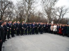 PRESIDENT SERZH SARGSYAN PAID TRIBUTE TO THE MEMORY OF ANDRANIK MARGARIAN