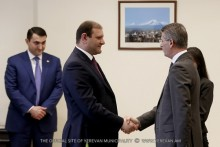 The treaty on Argavand-Shirak road construction has been signed