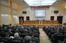 SERZH SARGSYAN WAS PRESENT AT THE LAUNCH OF THE OPERATIVE MEETINGS OF THE LEADERSHIP OF RA ARMED FORCES