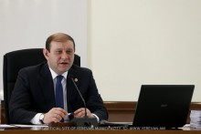Regular meeting of Yerevan Council of Elders