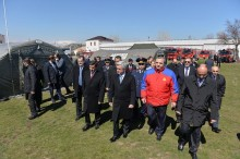 PRESIDENT ATTENDED THE CEREMONY OF OPENING OF THE ARMENIAN-RUSSIAN HUMANITARIAN RESPONSE CENTER