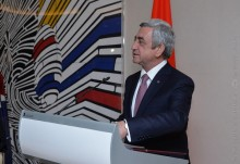 PRESIDENT SERZH SARGSYAN MET WITH THE REPRESENTATIVES OF THE ARMENIAN STRUCTURES IN GREECE