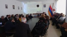 Report by the Ambassador of the Republic of Belarus to Armenia at the office of RPA Arabkir territorial organization