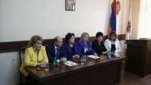 Meeting with the Women's Council of RPA Avan territorial organization