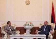 Ազգային ժողովի նախագահն ընդունեց Հայաստանում ԱՄՆ դեսպանին