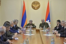 PRESIDENT SERZH SARGSYAN TOGETHER WITH THE PRESIDENT OF NKR BAKO SAHAKIAN CONDUCTED CONSULTATIONS IN STEPANAKERT