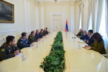 PRESIDENT RECEIVED THE SECRETARY GENERAL OF THE CSTO, JOINT CHIEF OF STAFF AND PARTICIPANTS OF THE CSTO MILITARY COMMITTEE SESSION