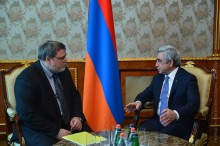 PRESIDENT RECEIVED THE CHAIRMAN OF THE CIS INTERSTATE ANTI-MONOPOLY COUNCIL IGOR ARTEMYEV