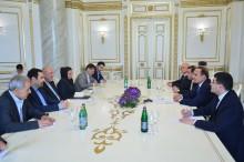 Prime Minister Receives IRI Energy Minister