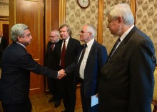 PRESIDENT SERZH SARGSYAN RECEIVED CO-CHAIRS OF THE MINSK GROUP