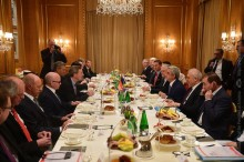 PRESIDENT MET WITH THE EXECUTIVE DIRECTOR OF GERMANY'S EASTERN ECONOMIC COMMISSION AND LEADERS OF BUSINESS COMMUNITY