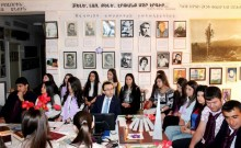 Event on the occasion of the 101st anniversary of the Armenian Genocide on the initiative of the young Republicans of Armavir