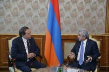 PRESIDENT RECEIVED THE SECRETARY GENERAL OF SOCIALIST INTERNATIONAL (SI) LUIS AYALA