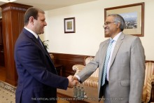 Yerevan Mayor met with the Ambassador Extraordinary and Plenipotentiary of the Republic of India to the Republic of Armenia Suresh Babu