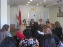 Meeting with members of the Women's Council of RPA Erebuni territorial organization