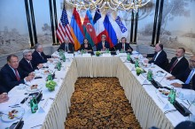 PRESIDENTS OF ARMENIA AND AZERBAIJAN PARTICIPATED IN THE DISCUSSIONS INITIATED BY THE MINISTERS OF FOREIGN AFFAIRS OF THE COUNTRIES-CO-CHAIRS OF THE OSCE MINSK GROUP