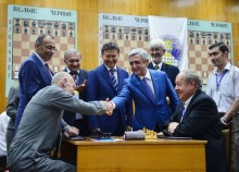 PRESIDENT ATTENDED THE OPENING CEREMONY OF THE WORLD INDIVIDUAL DEAF CHESS CHAMPIONSHIP AND INAUGURATION OF THE SHENGAVIT CHESS SCHOOL FOR CHILDREN