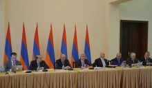THE BOARD OF TRUSTEES AND LOCAL BODIES OF THE HAYASTAN FUND HELD THE 25TH JOINT SESSION