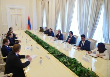 PRESIDENT SERZH SARGSYAN RECEIVED MEMBERS OF THE INTERGOVERNMENTAL COUNCIL OF THE EURASIAN ECONOMIC UNION