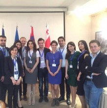 On the initiative of the Georgian Development Foundation the 1st International Youth Conference was held with RPA Youth organization
