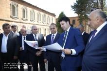 Премьер-министр посетил Ширакскую область