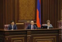 Национальное Собрание продолжило работу внеочередной сессии