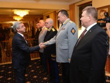 ON THE OCCASION OF THE RUSSIAN STATE HOLIDAY, PRESIDENT SERZH SARGSYAN CONGRATULATED THE HIGHEST LEADERSHIP OF THE RUSSIAN FEDERATION AND VISITED THE RF EMBASSY IN YEREVAN