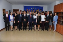 PRESIDENT SERZH SARGSYAN VISITED THE OFFICE OF THE EUROPEAN UNION IN ARMENIA
