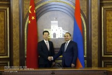 Prime Minister Hovik Abrahamyan Welcomes Chinese Vice Premier-Led Delegation