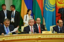 PRESIDENT SERZH SARGSYAN PARTICIPATED AT THE SESSION OF THE SUPREME COUNCIL OF THE EURASIAN ECONOMIC UNION
