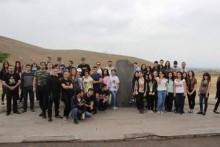Молодые республиканцы приняли участие в паломничестве -мероприятии, посвященному дню поминовения  Гарегина Нжде