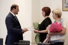 """Taron Margaryan: """"It's our duty and another step to support the families of our servicemen"""""""