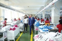 PM Introduced to Textile Company's Development Plans
