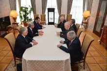 PRESIDENT SERZH SARGSYAN MET WITH THE CO-CHAIRS OF THE OSCE MINSK GROUP