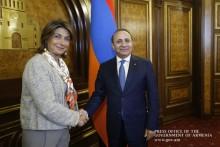 Премьер-министр принял делегацию, возглавляемую председателем Совета французского департамента Буш-дю-Рон