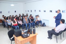 Young Republicans of Gyumri celebrate the Constitution Day