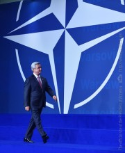 PRESIDENT SERZH SARGSYAN PARTICIPATED AT THE MEETING OF THE HEADS OF STATE AND GOVERNMENT OF THE NATO MEMBER AND NON-MEMBER STATES DEDICATED TO THE RESOLUTE SUPPORT MISSION IN AFGHANISTAN