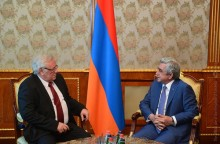AMBASSADOR OF BULGARIA HELD A FAREWELL MEETING WITH THE PRESIDENT OF ARMENIA
