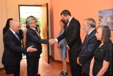 PRESIDENT SERZH SARGSYAN VISITED THE EMBASSY OF ARGENTINE ON THE OCCASION OF INDEPENDENCE DAY