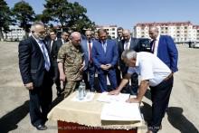 При содействии мэрии Еревана в Степанакерте строится парк воинов-освободителей (парк Азатамартиков)